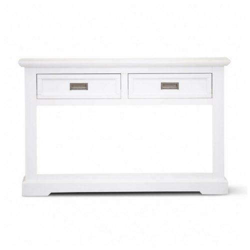 vo coas 10 1 500x500 - Coastal Console Table 2 Drawer - Brushed White