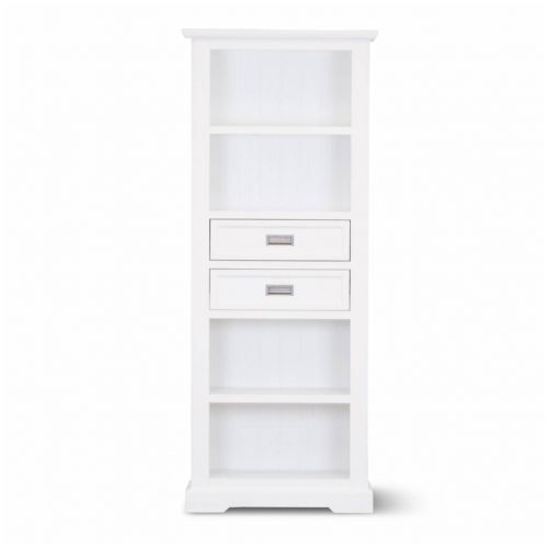 vo coas 11 1 500x500 - Coastal Bookcase - Brushed White