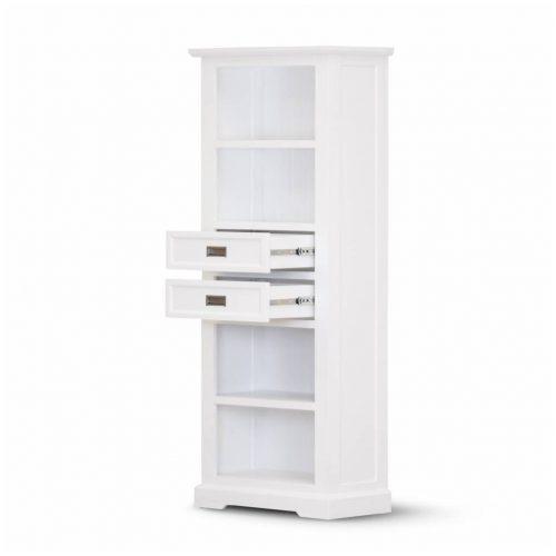 vo coas 11 2 500x500 - Coastal Bookcase - Brushed White
