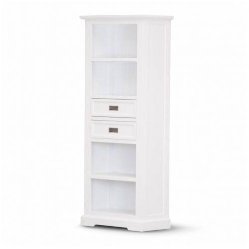 vo coas 11 4 500x500 - Coastal Bookcase - Brushed White