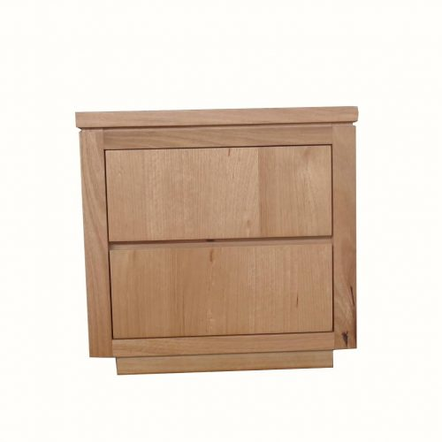 vo high 13 1 500x500 - Highland Messmate 2 Drawer Timber Bedside
