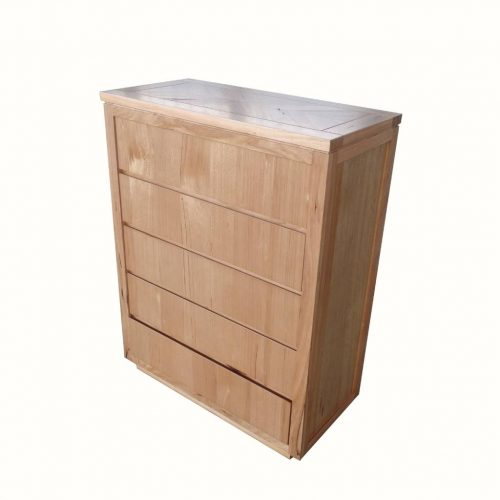 vo high 14 2 500x500 - Highland Messmate 5 Drawer Tallboy