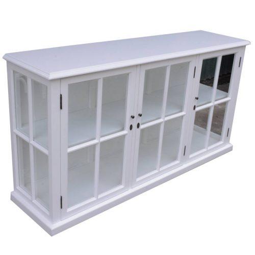 vo somr 01 1 500x500 - Somerset 3 Door Sideboard - White