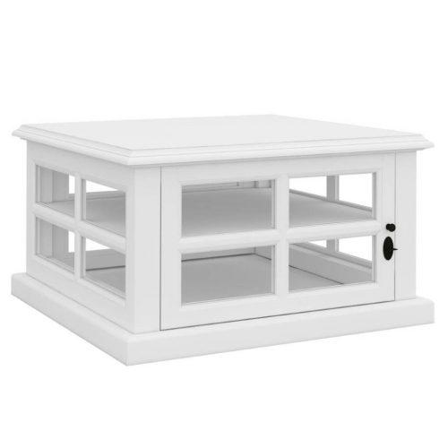 vo somr 05 1 500x500 - Somerset Glass Door Lamp Table - White