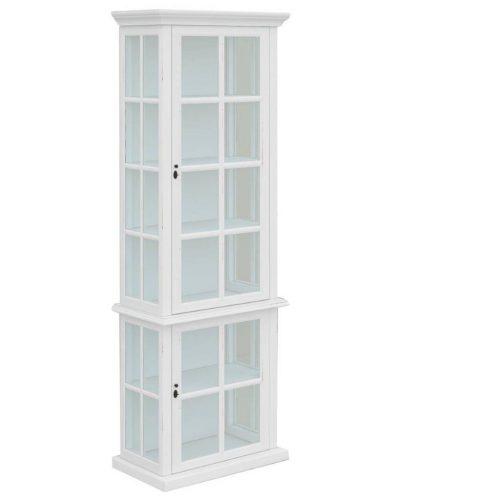 vo somr 06 1 500x500 - Somerset Display Cabinet 2 Door - White