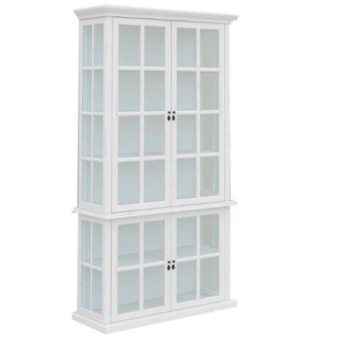 vo somr 07 1 500x500 - Somerset Display Cabinet 4 Door - White