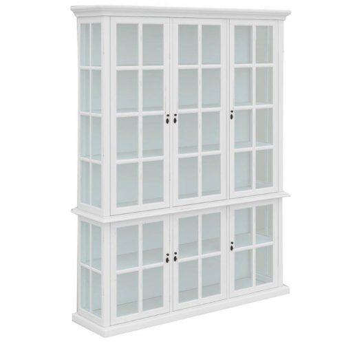 vo somr 08 1 500x500 - Somerset Display Cabinet 6 Door - White
