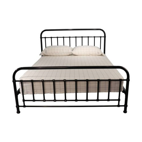 vob akir 02 3 500x500 - Akira Queen Size Metal Bed - Black