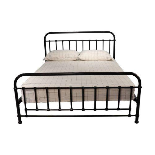 vob akir 02 3 500x500 - Akira Double Metal Bed - Black