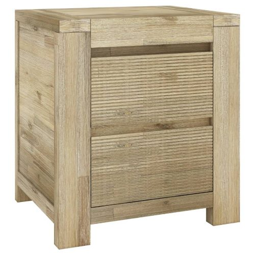 vob mess 03 1 500x500 - Messina Bedside Table 2 Drawer - Smoke