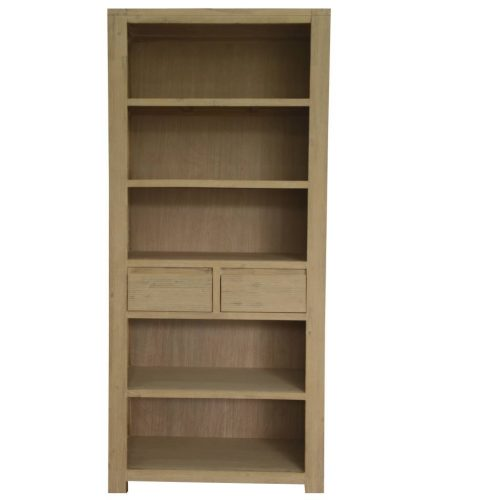 vod mess 17 1 500x500 - Messina Acacia Timber Bookcase - Smoke