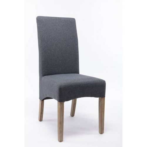 vod mess 20 500x500 - Messina Upholstered Dining Chair - Smoke/Grey Fabric