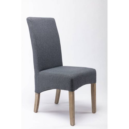 vod mess 202 500x500 - Messina Upholstered Dining Chair - Smoke/Grey Fabric