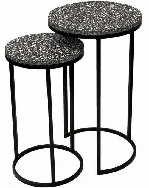 E144626 500x628 - Hertz Terrazzo Side Tables