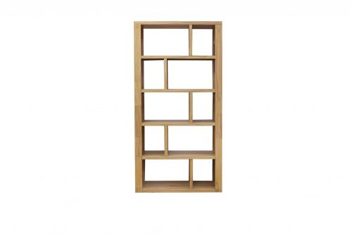 Marriot 964 BC Nat scaled 1 500x333 - Marriott 1800mm x 964mm Bookcase - Natural