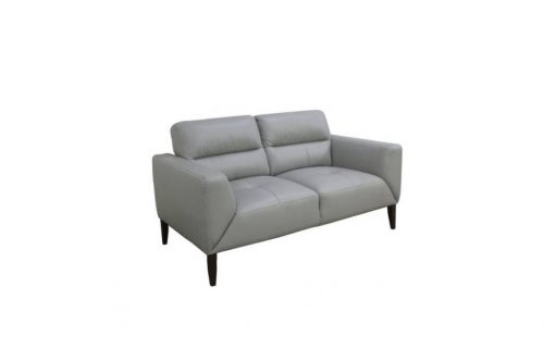 vo sono 01 1 500x333 - Sonama 2 Seater Leather Sofa - Silver