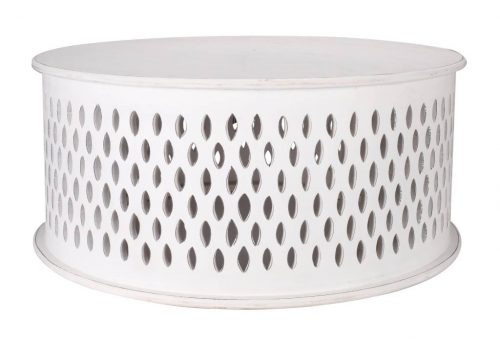 wova 13 wht 3 500x341 - Mosaic Round Coffee Table-White