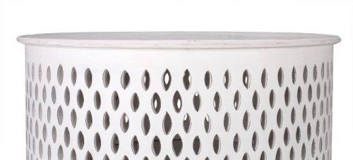 wova 13 wht 4 500x227 - Mosaic Round Coffee Table-White
