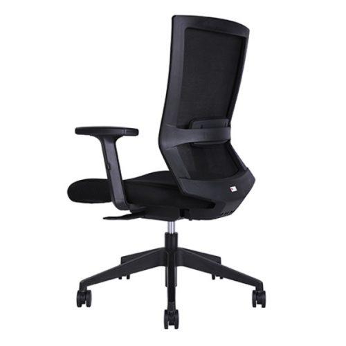 Portland 1 500x500 - Portland Mid Back Office Chair - Black