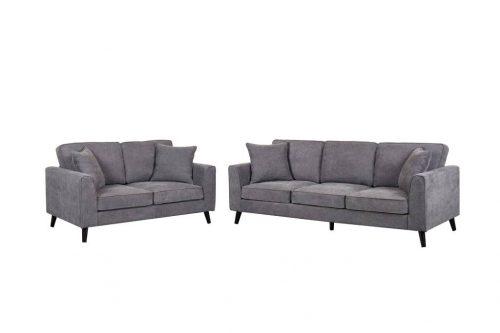 vol mntr 03 1 500x333 - Montrose 3 + 2 Seater Set - Dark Grey Fabric