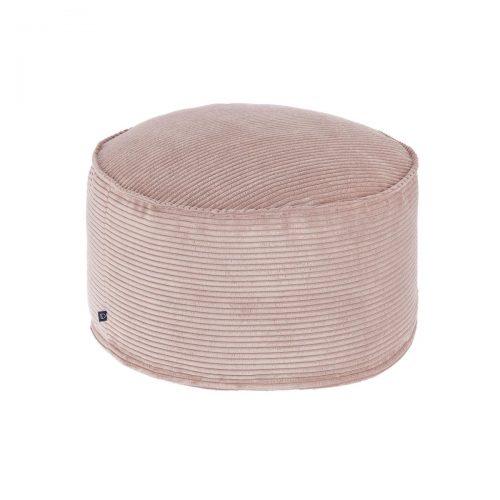 AA6212LN24 0 500x500 - Blok Round Ottoman - Pink Corduroy