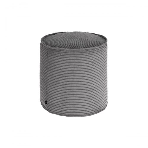 AA6214LN15 0 500x500 - Blok Round Footrest Ottoman - Grey Corduroy