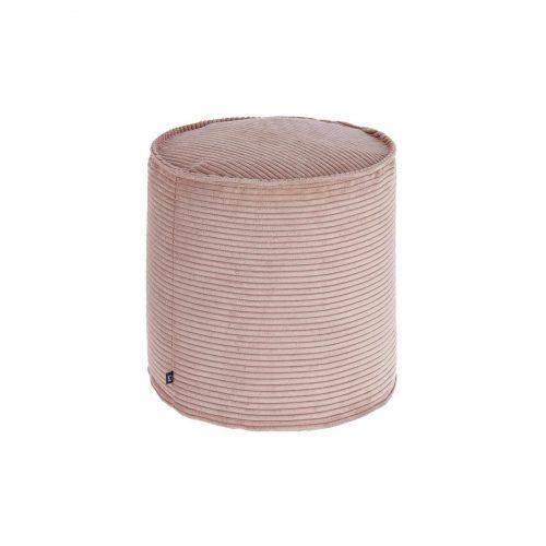 AA6214LN24 0 500x500 - Blok Round Footrest Ottoman - Pink Corduroy