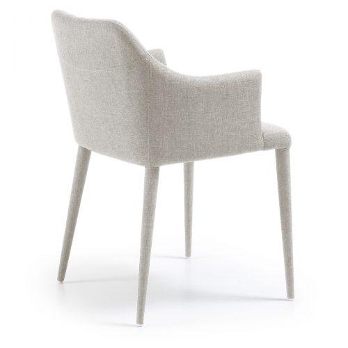 C639J14 2 500x500 - Danai Armchair - Light Grey Fabric