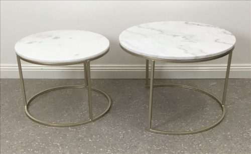 E144469 2 500x307 - Mila Marble Coffee Table Set