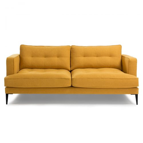 S489LD81 1 500x500 - Vinny Fabric 3 Seater Sofa - Mustard