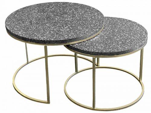 erazzo 500x374 - Hailey Terrazzo Coffee Table Set