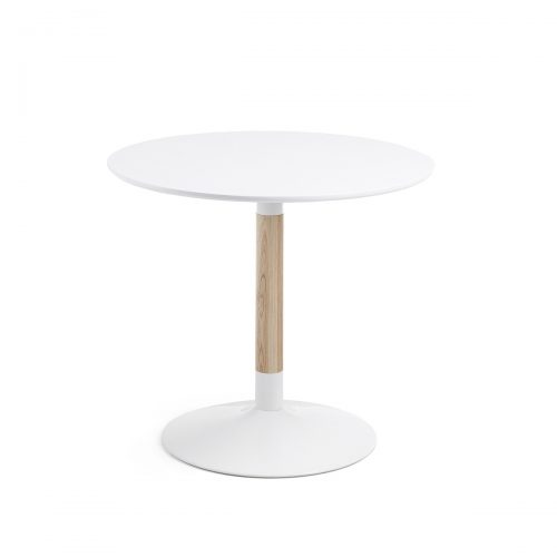 CC0091L05 0 500x500 - Tic 900 Round Dining Table - White
