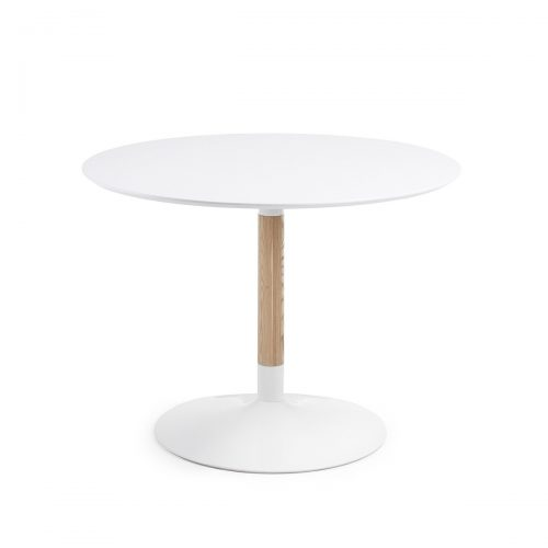 CC0092L05 0 500x500 - Tic 1100 Round Dining Table - White