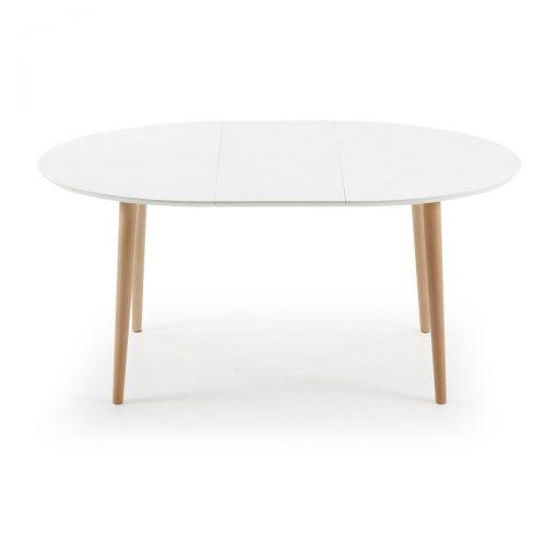 EC305L33 3 500x500 - Oakland Extension Table 1200/2000 - White