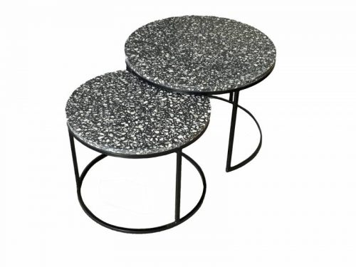 Hertz 500x375 - Hertz Terrazzo Coffee Table Set