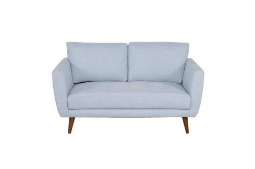 v 3808 2s blu 1 500x333 - Elysse 2 Seater Fabric Sofa - Pale Blue
