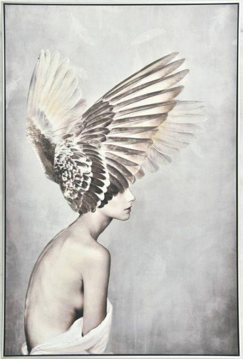 Angel lady 500x738 - Angel Lady Print