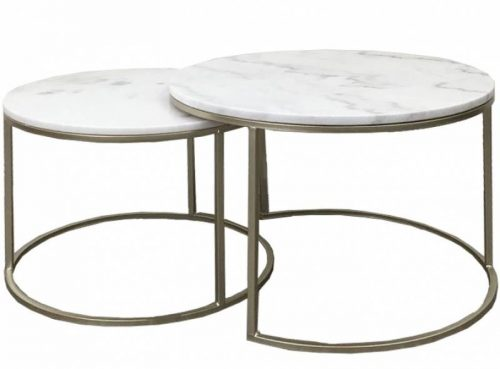 E144469 500x369 - Miles Marble Coffee Table Set
