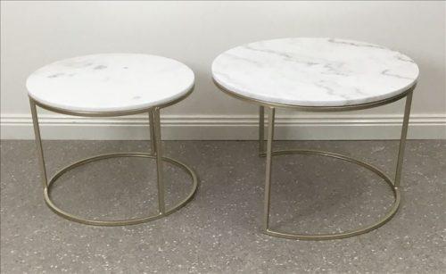 E144469 2 500x307 - Miles Marble Coffee Table Set