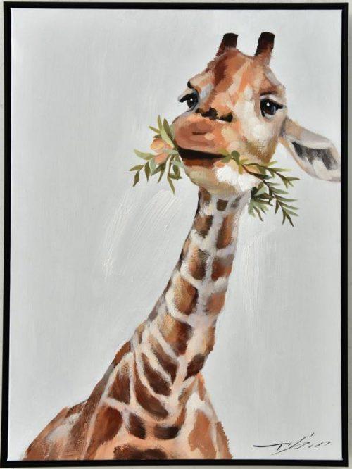 Giraffe 500x666 - Cody The Giraffe Print