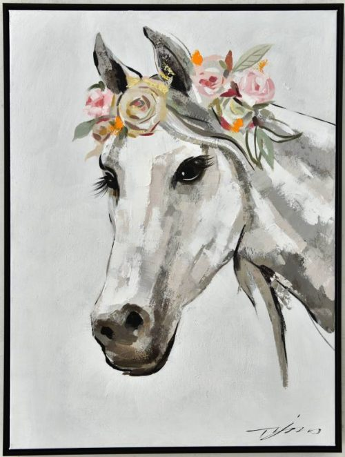Horse 500x662 - Gretchen The Horse Print